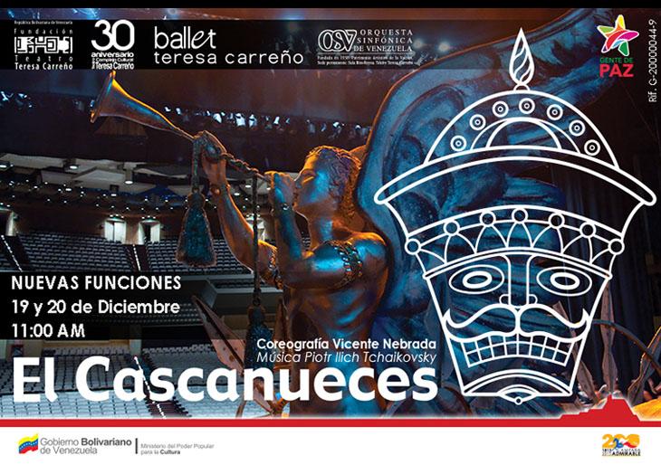 """Sinfónica de Venezuela inicia 18º Temporada del Ballet """"El Cascanueces""""con cartel Agotado"""