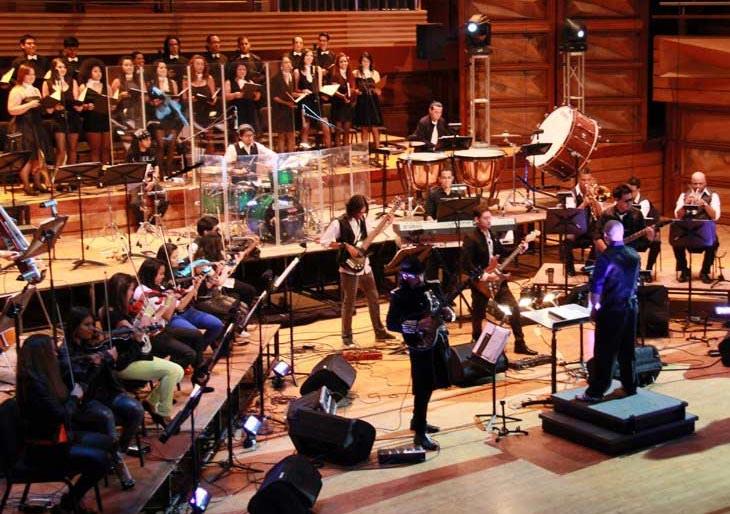 Orquesta de Rock Sinfónico se presenta en formato acústico y de heavy metal