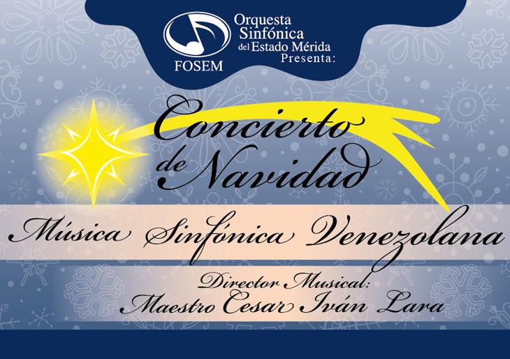 Orquesta Sinfónica del Estado Mérida celebra la Navidad con música sinfónica