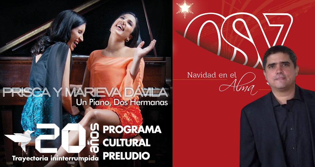 """El Programa Cultural """"Preludio"""" estrena dos discos con calidad venezolana"""