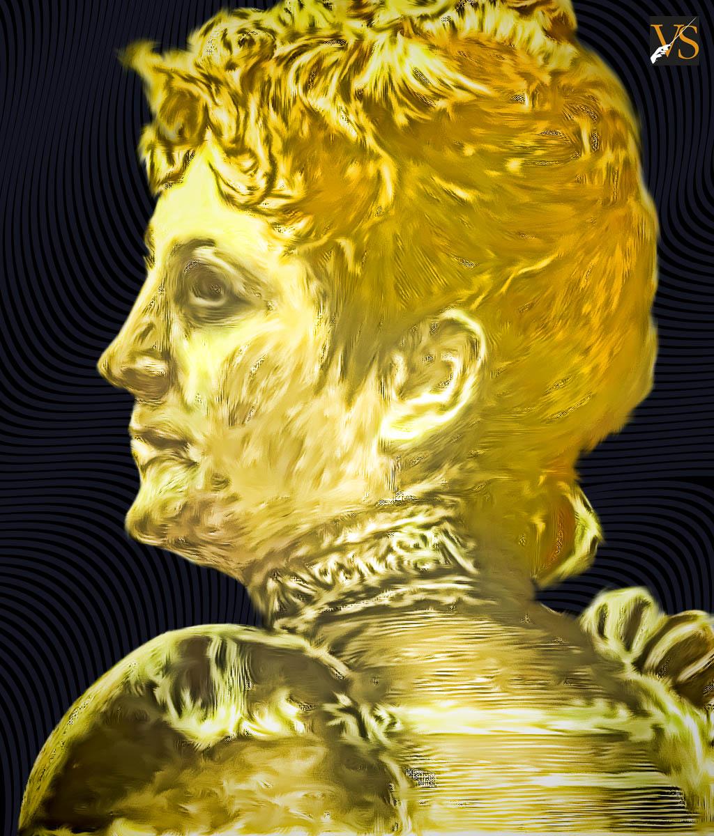 Teresa Carreño Ilustración basada en la imagen de Oscar González Bogen