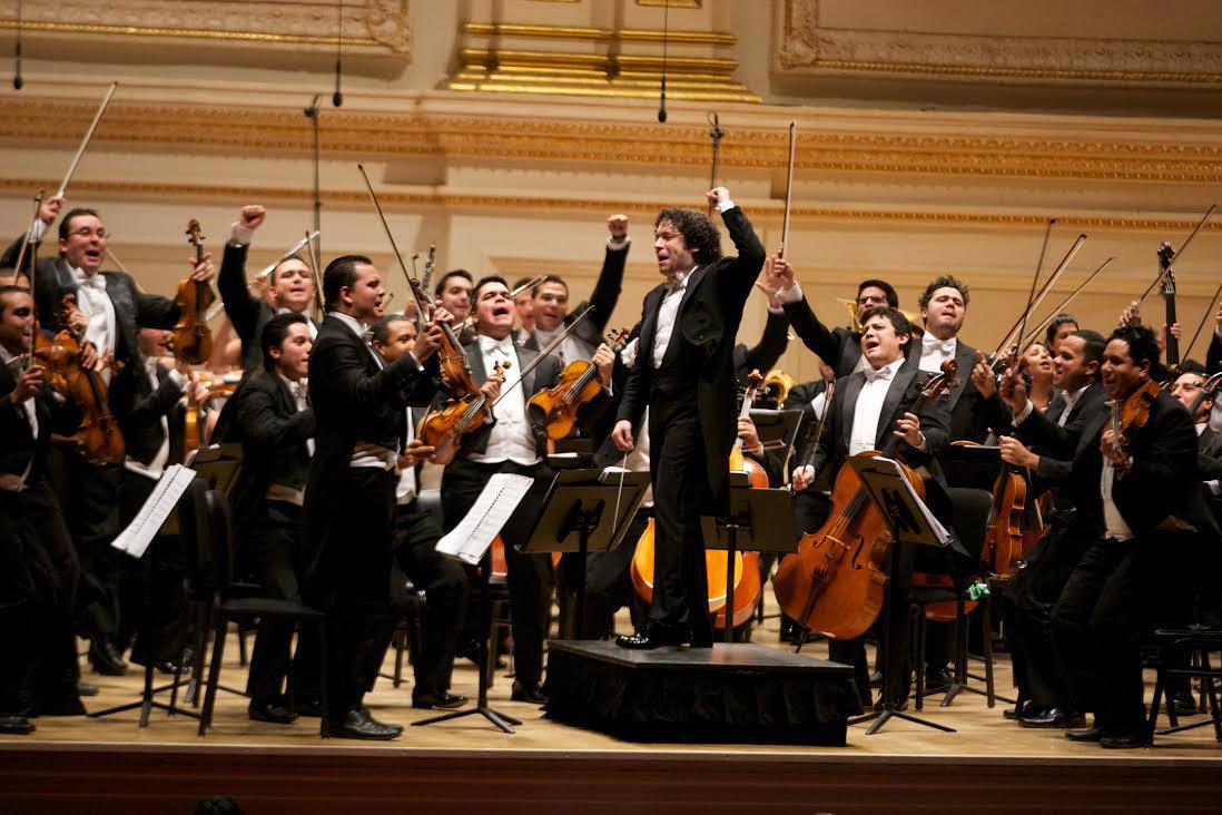 Gustavo Dudamel OSSBV Los Angeles 2012