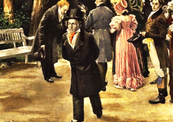 Beethoven y Goethe: El impetuoso y el obsecuente