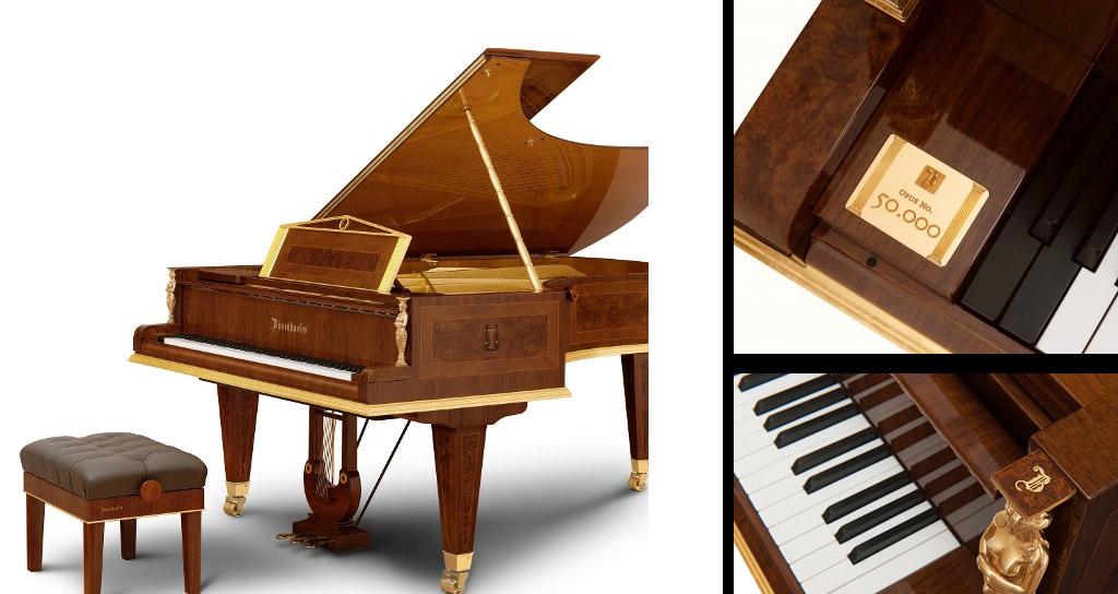 El piano Bösendorfer número 50.000 supera el medio millón de euros