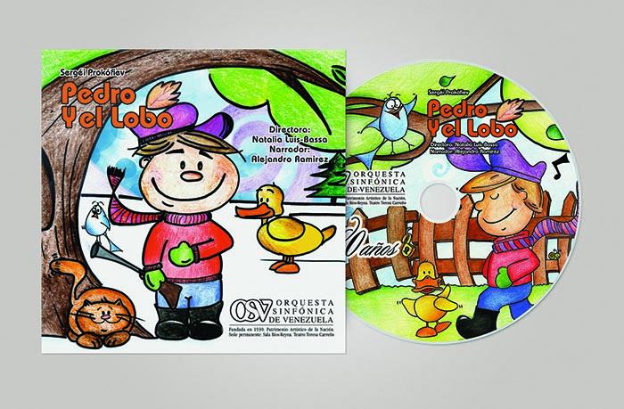 Orquesta Sinfónica Venezuela  Art Direction: Patricia Aloy  Illustration: Lilia Ramirez Uribe