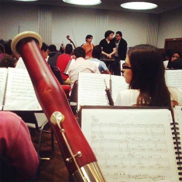 Gustavo Dudamel en Lara Crédito: Instagram edwinlucena