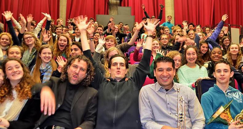 """El estreno europeo de """"Mestizo"""" de Efrain Oscher en el Barbican Hall de Londres, fue un éxito!"""