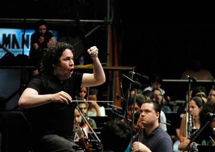 Gustavo Dudamel responde a las críticas de sectores opositores