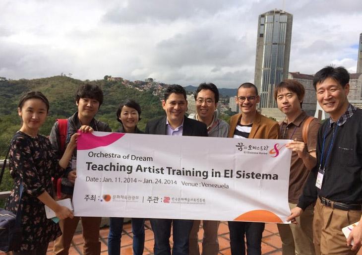 Delegación de El Sistema Korea está de visita en Venezuela