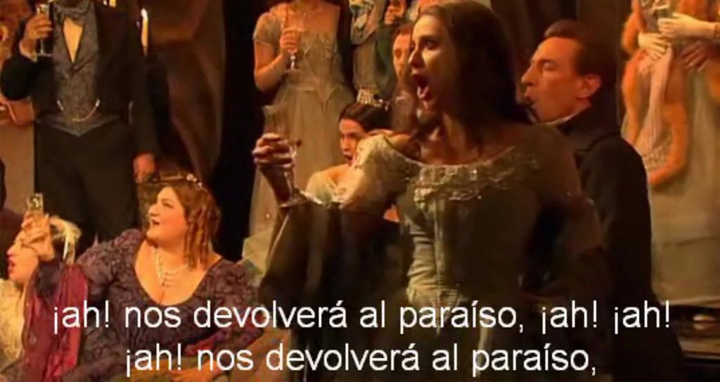 Los subtítulos como herramienta de comunicación en la ópera actual