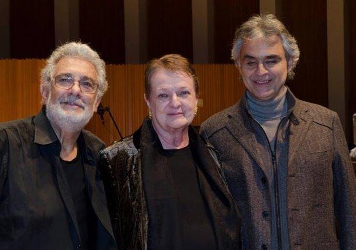 Andrea Bocelli graba con Plácido Domingo una nueva versión de 'Manon Lescaut'