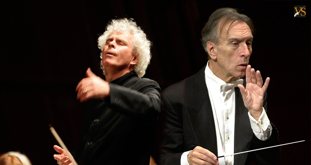 Simon Rattle y Claudio Abbado