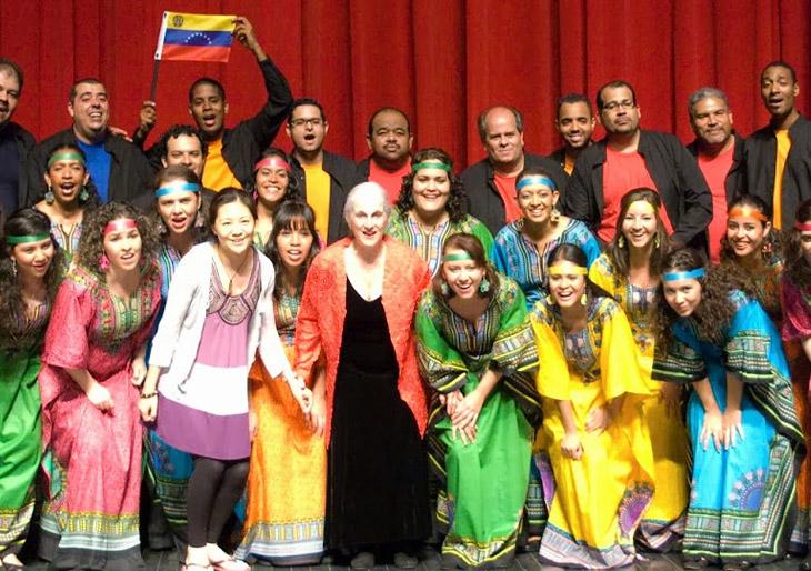 La Schola Cantorum de Venezuela Inicia 2014 con tres Conciertos en la Boston Symphony Hall