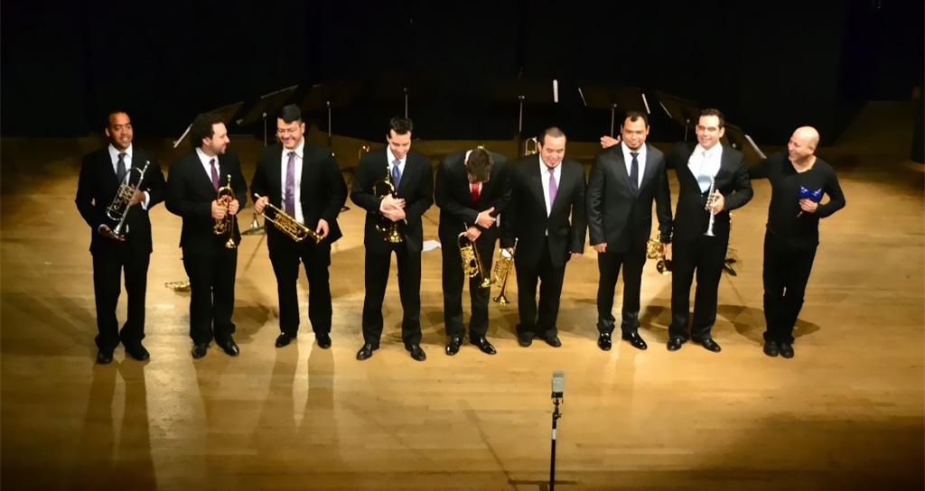 El Octeto de Trompetas Simón Bolívar impresionó en el Conservatorio Charles Munch de París