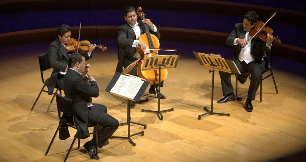 En la Sala Emma Soler de Los Teques Cuarteto de Cuerdas Simón Bolívar en el Festival Beethoven