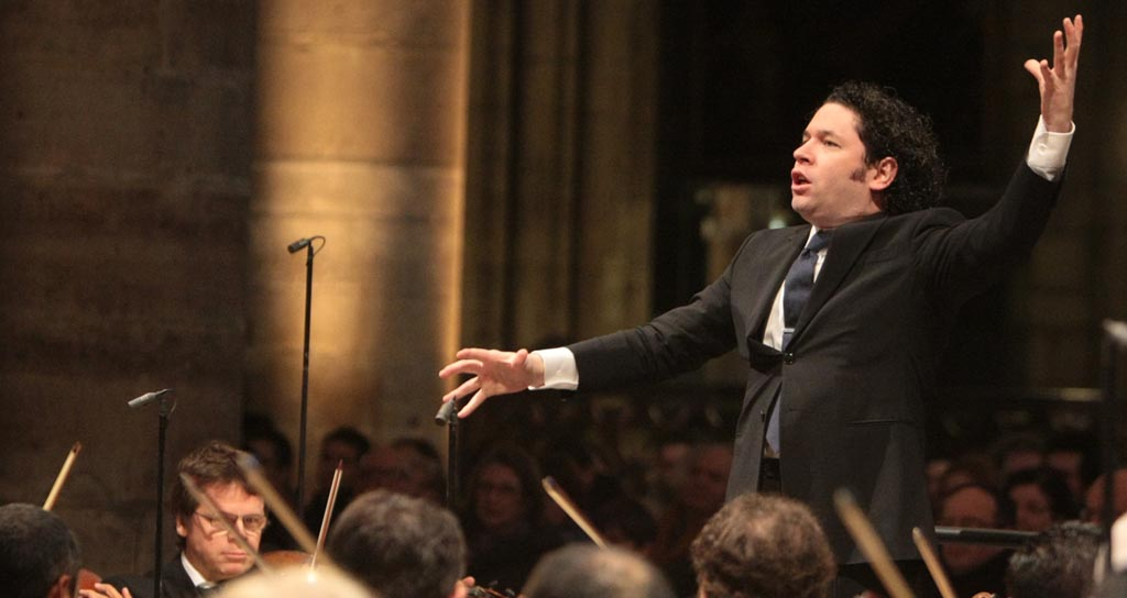 Gustavo Dudamel dirige a Daniel Barenboim en Berlín