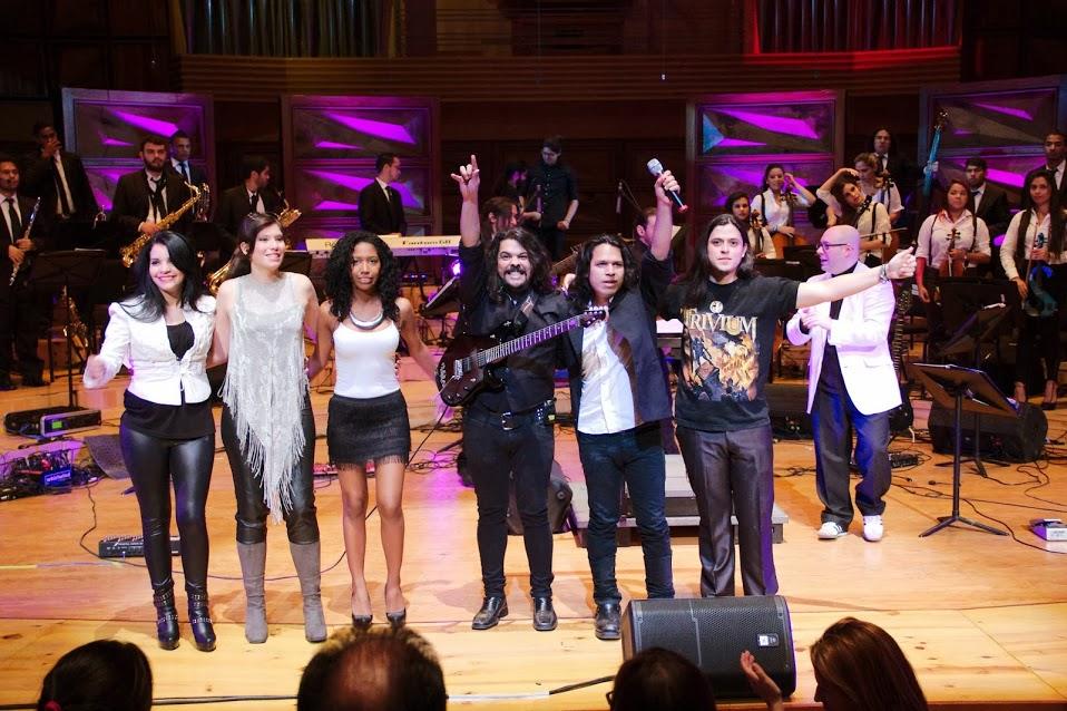 El cierre estuvo a cargo de la Orquesta de Rock Sinfónico Simón Bolívar, la cual interpretó obras de Deep Purple, The Rolling Stones, The Beatles, entre otros músicos y agrupaciones de estos géneros
