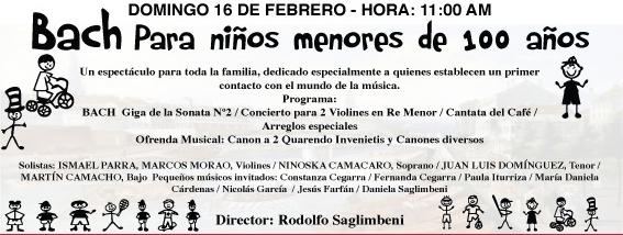 Niños menores de 100 años protagonizan conciertos de la Sinfónica MunicipalNiños menores de 100 años protagonizan conciertos de la Sinfónica Municipal