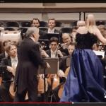 ¡Propina sorpresa! Zubin Mehta enseña a dirigir a la soprano Diana Damrau
