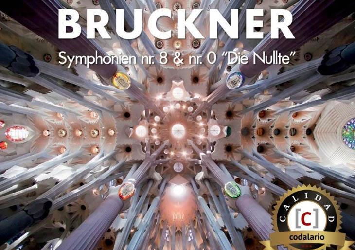 Codalario otorga su Sello de Calidad a la  'Sinfonía nº 8' de Bruckner, grabada por Zubin Mehta