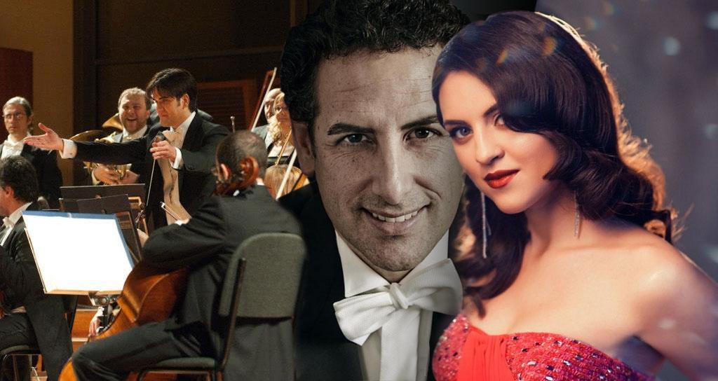 Venera Gimadieva, Juan Diego Flórez y Manuel López Gómez