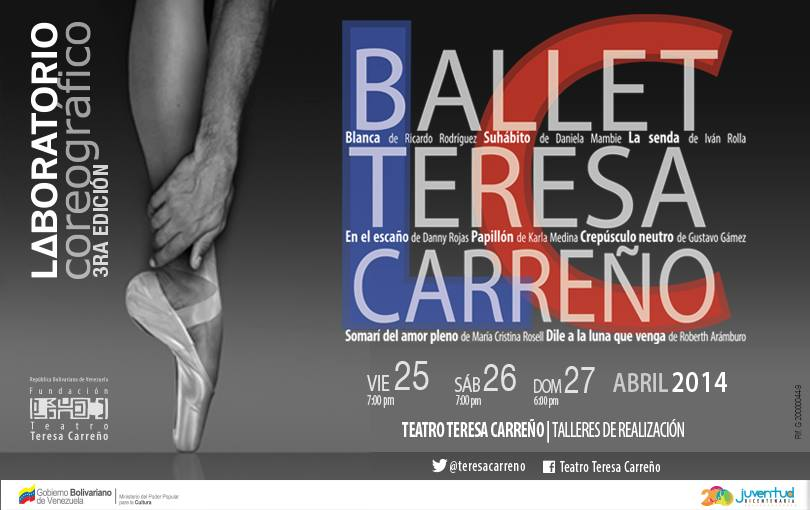 Programación Ballet Teresa Carreño