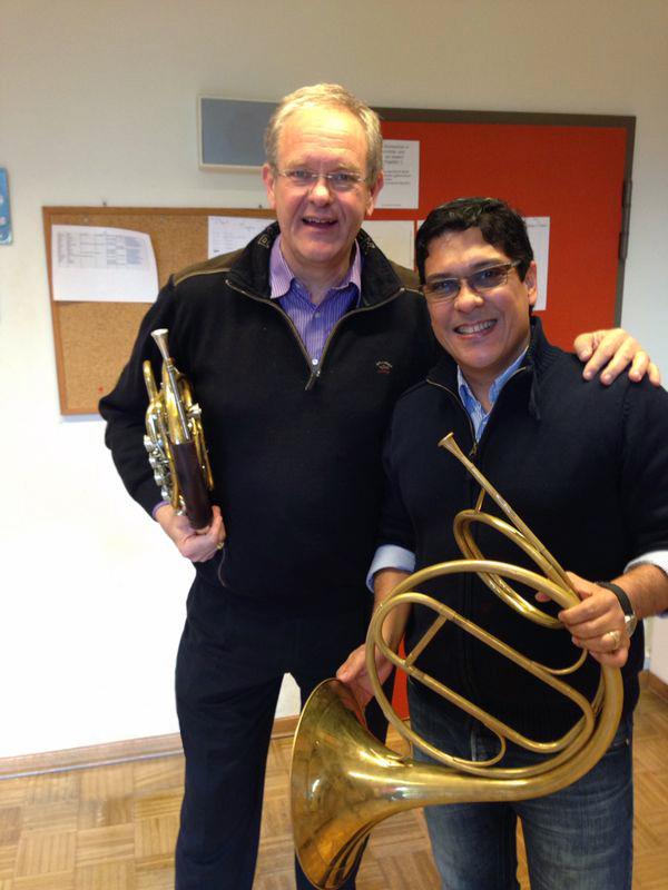 Albert Koster y Joel Arias