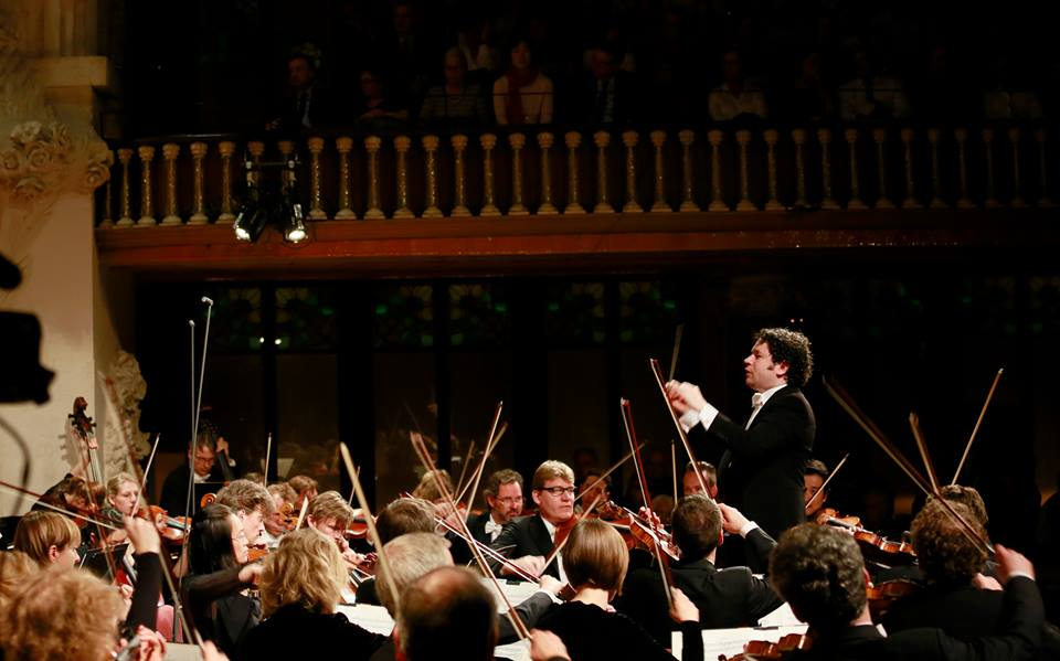 Éxito apoteósico de Dudamel al frente de la Orquesta Sinfónica de la Radio de Baviera, en el marco del ciclo Palau 100