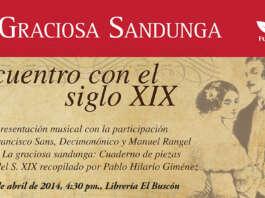 Presentación de La graciosa sandunga en El Buscón, Trasnocho Cultural