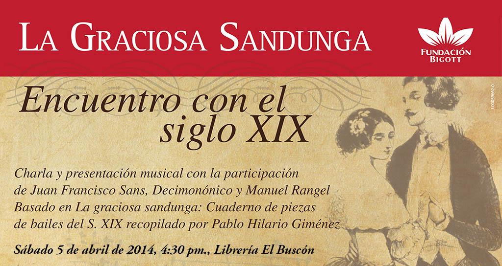 Presentación de La graciosa sandunga en El Buscón