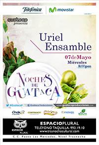 """Uriel Ensamble está """"Calentando motores"""" para Noches de Guataca"""
