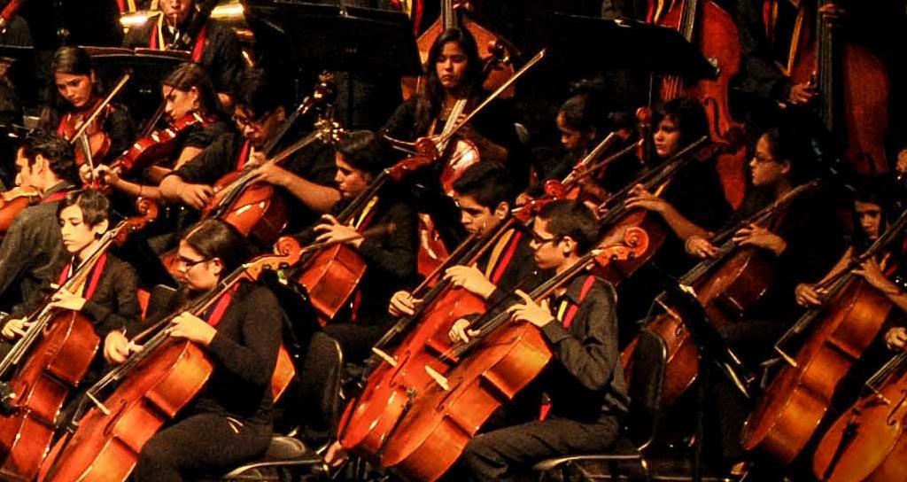 Orquesta Sinfónica de la Juventud Zuliana Rafael Urdaneta Fotografía: Javier Aranguren Cepeda