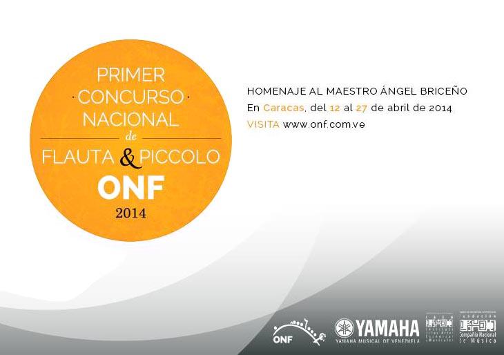 La Orquesta Nacional de Flautas de Venezuela presenta I Concurso de Flauta y Piccolo