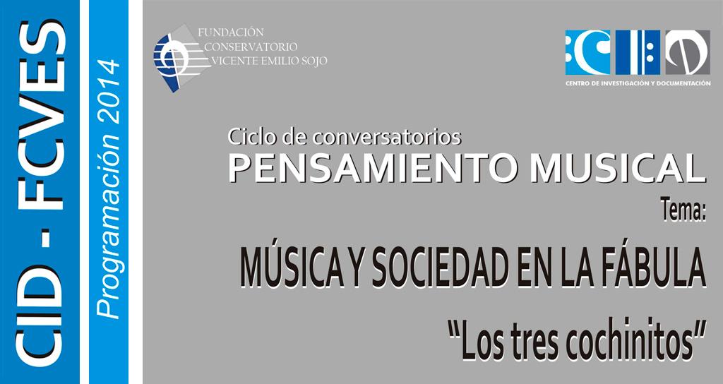 """Música y Sociedad en la Fábula """"Los tres Cochinitos"""""""