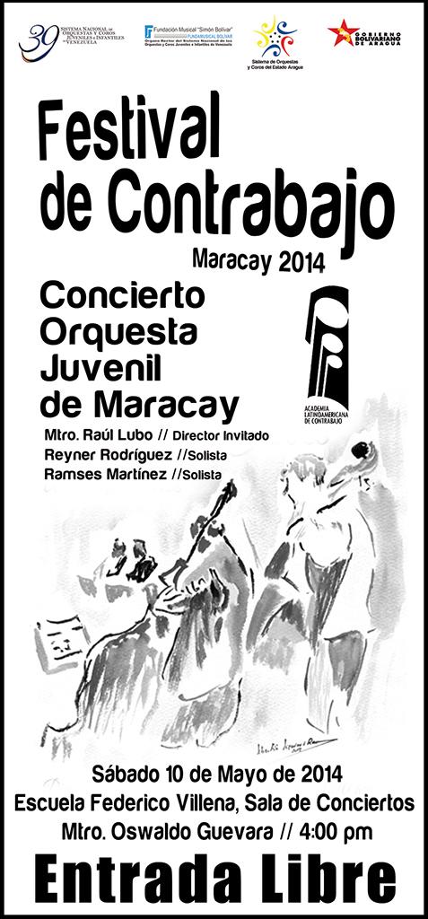 Festival de Contrabajo Maracay 2014