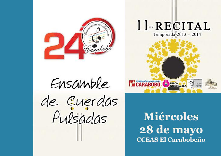 Undécimo Recital de Música de Cámara del Conservatorio de Música de Carabobo