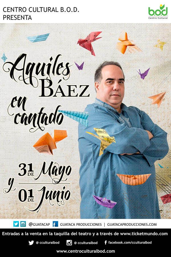 """Aquiles Báez está """"En Cantado"""""""
