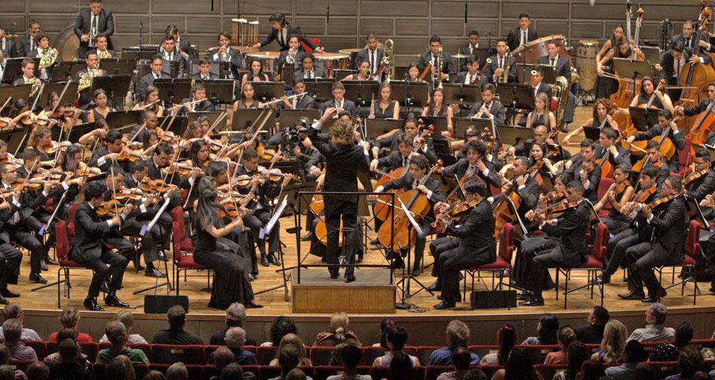 Christian Vásquez Estocolmo Sinfónica Juvenil Teresa Carreño de Venezuela