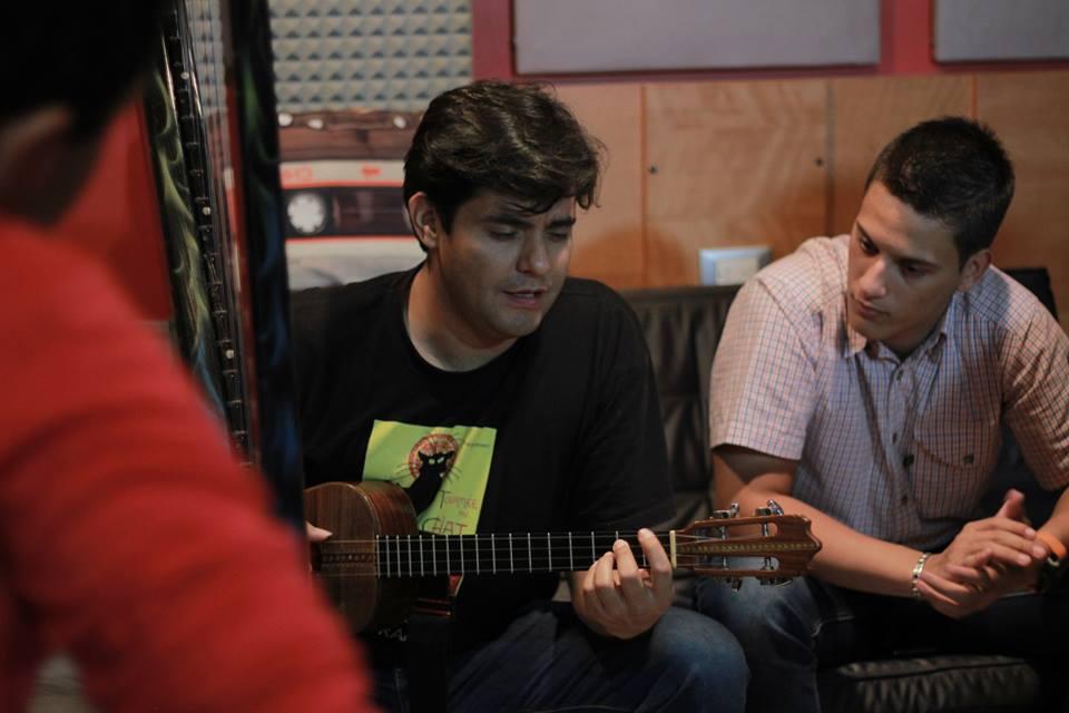 Leonard Jacome y Pablo Paz.