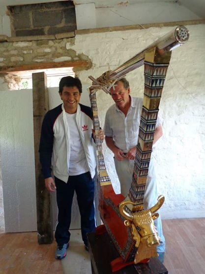 ARPAS DEL MUNDO- FESTIVAL DE ARPA DE STAMFORD — con Leonard Jacome y Andy Lowings.ARPAS DEL MUNDO- FESTIVAL DE ARPA DE STAMFORD — con Leonard Jacome y Andy Lowings.