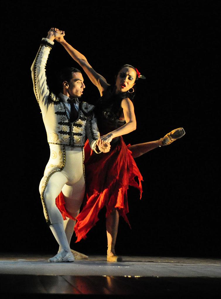 """Francisco Rivas y María Daniela Jiménez """"Carmen"""""""
