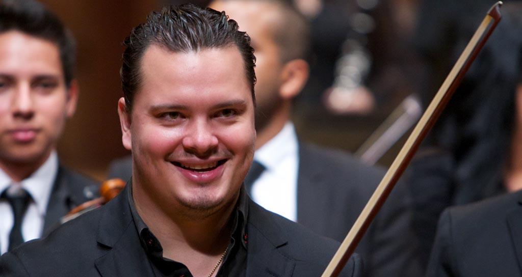 El Concertino de la Simón Bolívar tocará como solista junto a la Sinfónica de Miranda