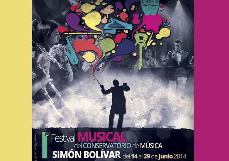 Música para todos los gustos trae el I Festival Musical del Conservatorio Simón Bolívar
