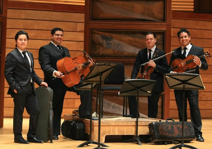 El ímpetu de Beethoven resonará en las cuerdas del Cuarteto Simón Bolívar