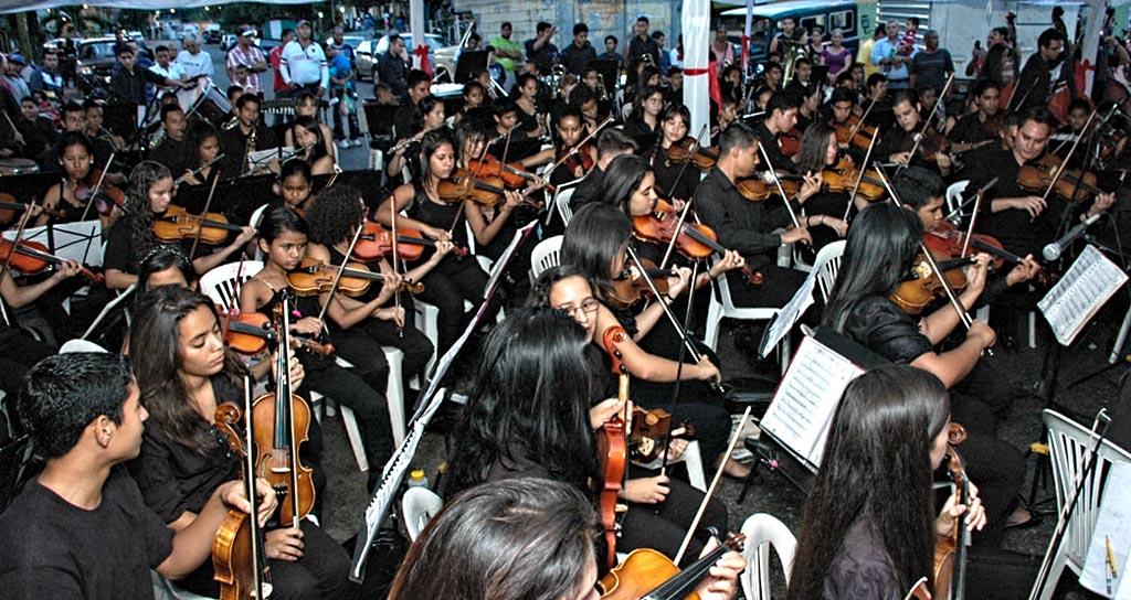 Sinfónica de La Colonia Tovar, El Consejo y Las Tejerías juntas