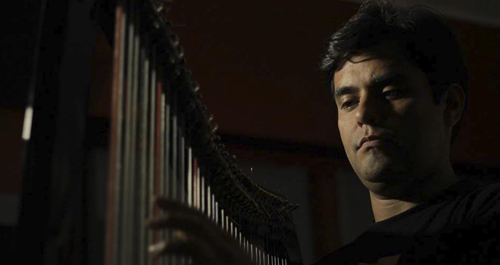 """Leonard Jácome: """"Siento el arpa como un órgano más de mi cuerpo"""""""