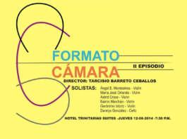 on obras Johann Sebastian Bach y Antonio Vivaldi, la Orquesta Sinfónica de Lara presentará este JUEVES 12-06-2014 el segundo episodio de su FORMATO CÁMARA