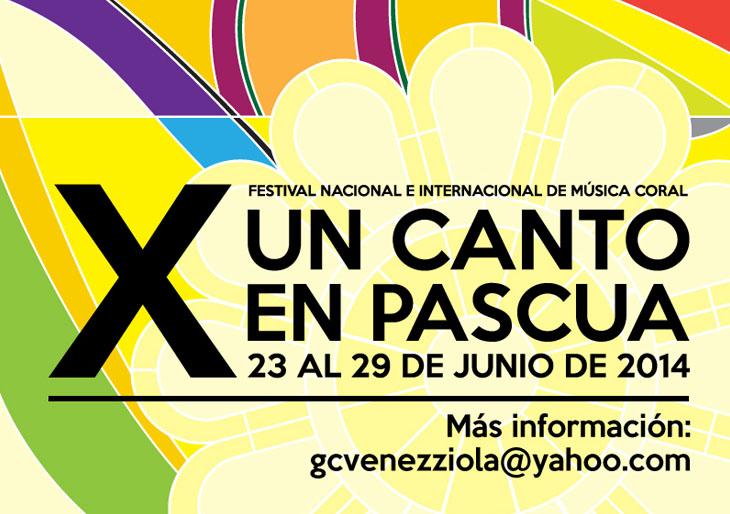X Festival Nacional e Internacional de Música Coral en Pascua 2014