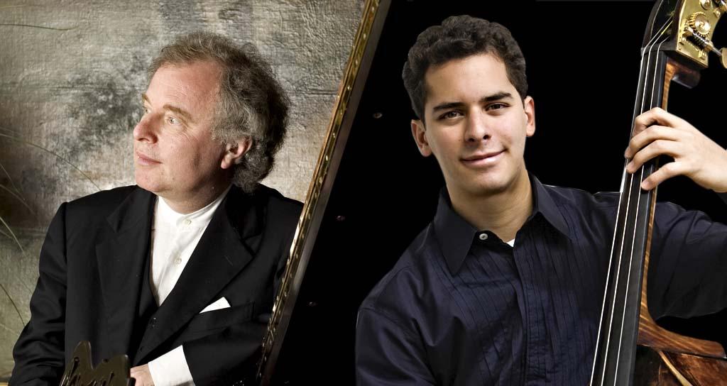 Edicson Ruiz debuta con el pianista Sir Andras Schiff y su Capella