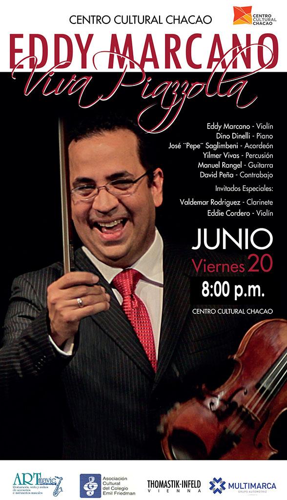 A petición del público: Eddy Marcano y su ¡Viva Piazzolla!